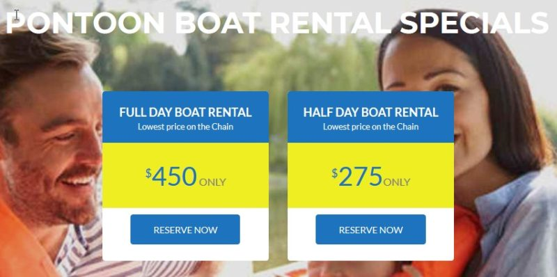Chain O'Lakes Boat Rentals