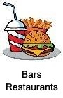 Bars, Restaurants
